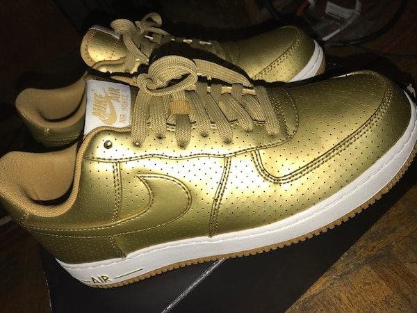 fc03885272 Used Nike Air Force Ones (Gold Limited) for sale in Chattanooga - letgo