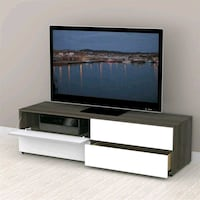 Nexera Allure Collection 60 in. TV Stand with 2 Dr Rogers, 72758