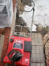 Toro CCR 2000 snowblower for parts ONLY#