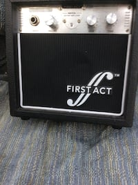 First act amplifier 15 watt