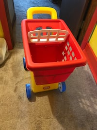 Kids shopping cart and paw patrol bed Gap
