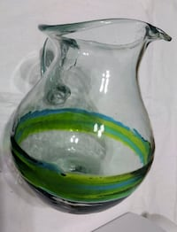 $15 Hand-Blow Glass Pitcher Toronto