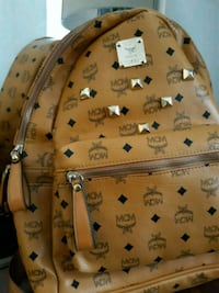 brown MCM leather backpack screenshot Oxon Hill, 20745