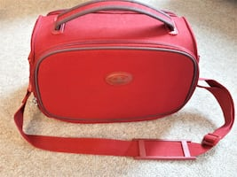 Red Samsonite Carry On Bag