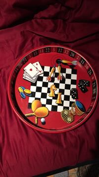 Large Vegas style Metal serving tray Los Angeles, 91607