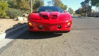 2000 Red Convertible Trans Am WS6 69k miles Las Vegas