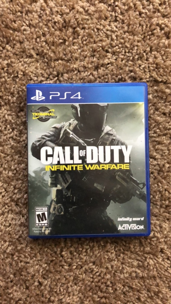 PS4 Call of duty - Infinity Warfare Game