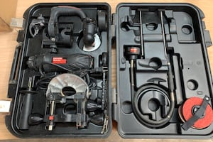 Craftsman 5 in 1 rotary tool with accessories and case