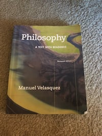 Philosophy 1 Textbook  Los Angeles, 90068