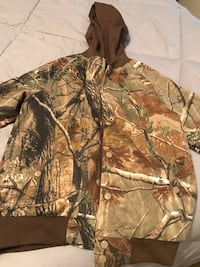 New size 14 Real Tree coat Cary, 27519