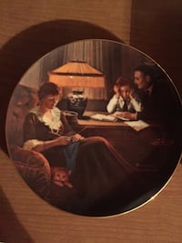 "Vintage Collectable Plate ""Father's Helper"""