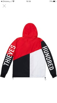 100 Thieves Tri-Color Windbreaker Joliet, 60433
