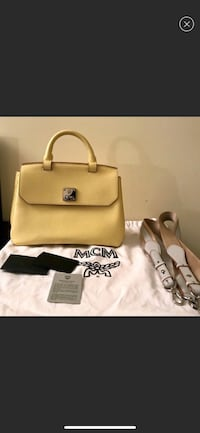 MCM Yellow Tote bag  Fairfax, 22031