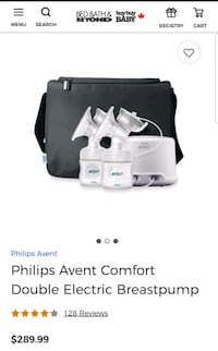 Philips avent double Electric breast pump  Toronto, M6J 3S8
