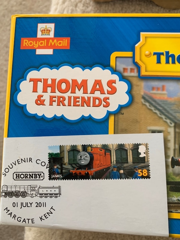 Hornby R9687 Thomas & Friends 'James The Red Engine Stamp Collection 7ad70102-d0e8-4b85-873f-468b28c7c6e8