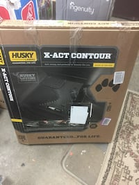 Husky liner x-act contour floor liners rear 2015 + Ford F-150  NEW