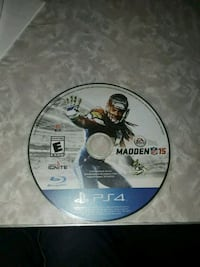 Madden NFL 15 PS4 game disc Hopewell, 23860