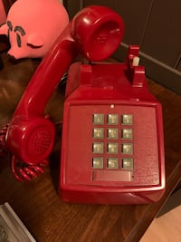 Very Rare Red Push Button Phone ☎️