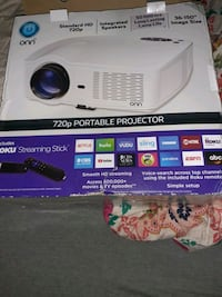 Projector and roku stick just took it out the box New Orleans, 70114