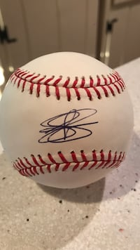 Drew Storen signed MLB baseball with clear box Mc Lean, 22101