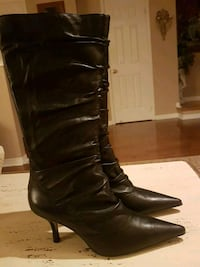 New Black leather boots Vaughan, L4H 1M4