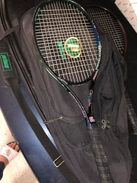 High Quality Prince Tennis Racquets Bag with 2 Prince High Quality Tennis Racquets and 2 new Penn Cans of balls Rockville