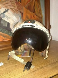 white and black motorcycle helmet Woodbridge, 22191