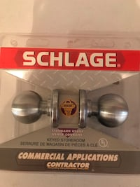 Schlage Commercial Applications Contractor Keyed Storeroom Toronto