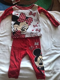 Minnie pajamas  Victorville, 92394