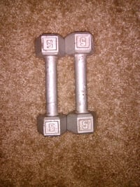 Workout Equipment 5 lbs barbells  Washington