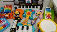 (59) KID'S GUITARS, KEYBOARDS, DRUMS – from 5$