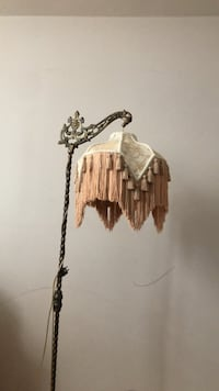 Vintage luxury floor lamp gold tassels  New York, 11234