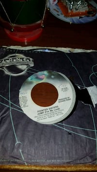 Pointer Sisters, jump for my love 45rpm Baltimore, 21205