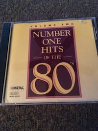 CD Number on Hits of the 80's Rockville