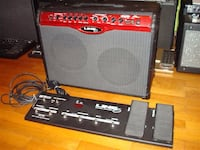 Line 6 210 50 watt stereo with long floorboard $175 Hayward, 94544