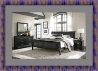 11pc Black Marley bedroom set Laurel