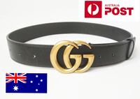 Bronze GG buckle Unisex Leather Belts Sydney