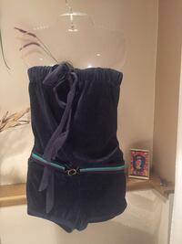 New Juicy couture velour jumpsuit small