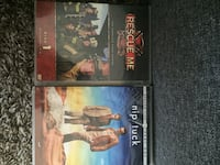 two assorted DVD movie cases Coquitlam, V3K 5C3