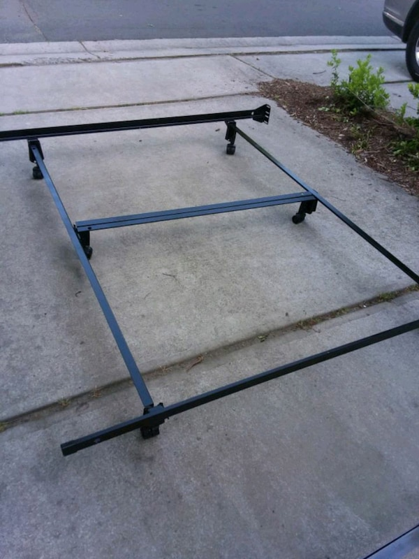 Used Firm Price King Bed Frame For Sale In Durham Letgo