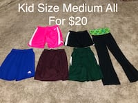Kid Size Medium All For $20  Des Moines, 50314