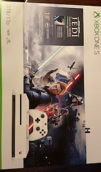 XBOX ONE S WITH JEDI DELUXE ADDTION BRAND NEW SEALED PACK Markham, L3S