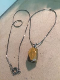 Tiger Eye Stone Necklace  Edmonton, T5W 2L5