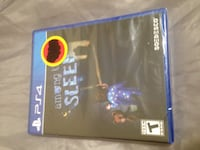 PS4 Sealed Among The Sleep Mississauga, L4X