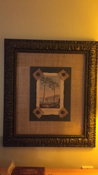 Wall Art-Palm Tree theme, 2 separate or purchase as a pair. 1-$25 or 2 for $40.00 Palm Beach Gardens, 33410