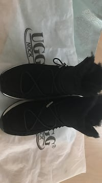 Pair of black suede boots brand new Edmonton, T5A 4X2