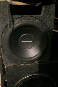 black and gray Pioneer subwoofer Imperial, 92251
