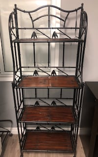 Metal / wood shelf perfect condition
