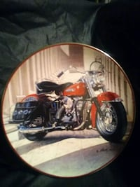 Harley Davidson Decorative Plate