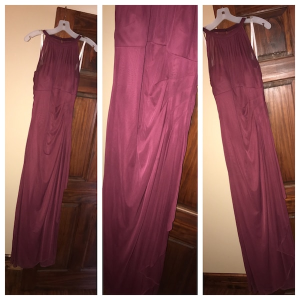 890c4bac6b0 Used 2 Wine colored dress for sale in Weir - letgo
